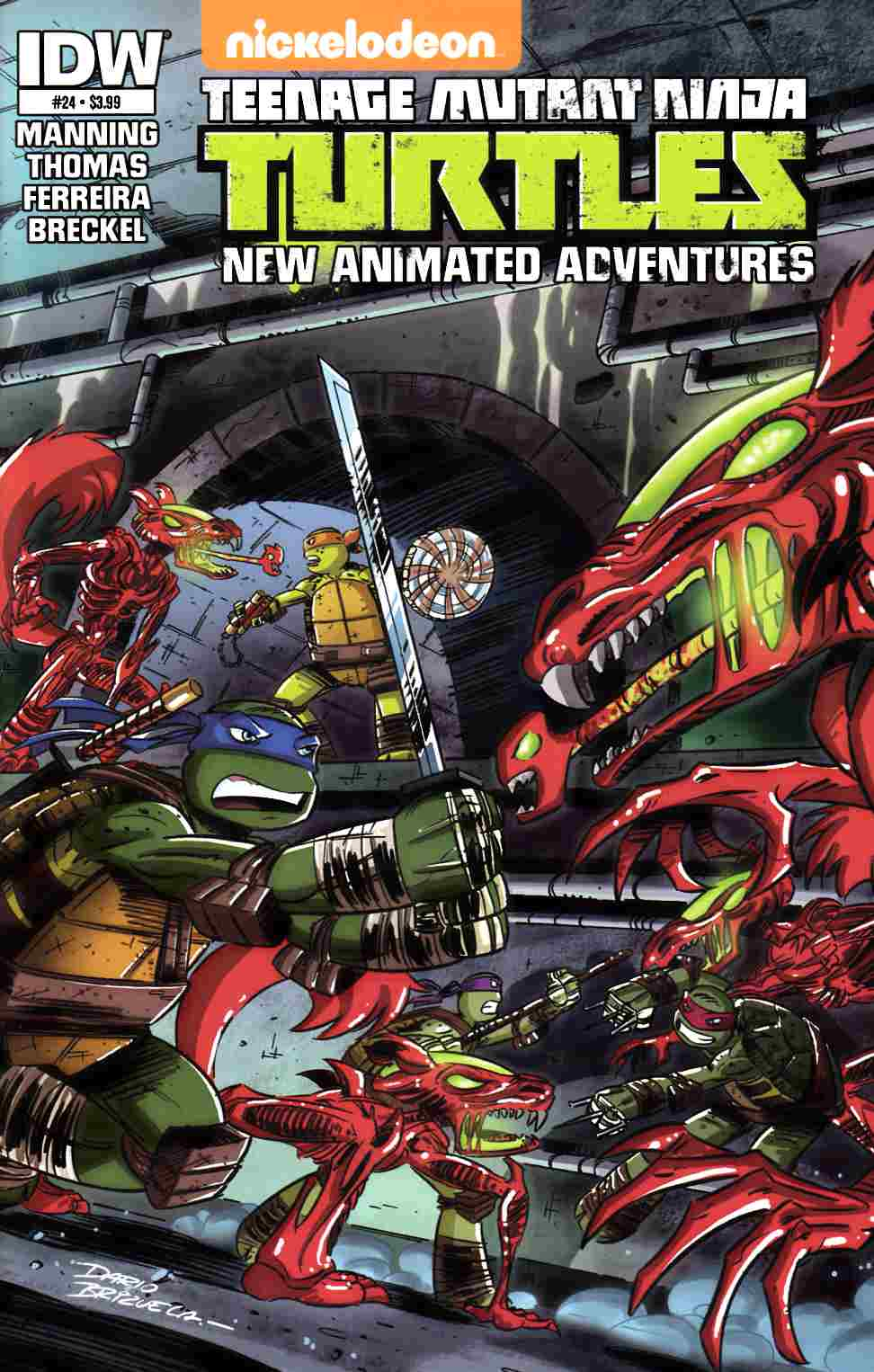 TMNT New Animated Adventures #24 [IDW Comic] THUMBNAIL