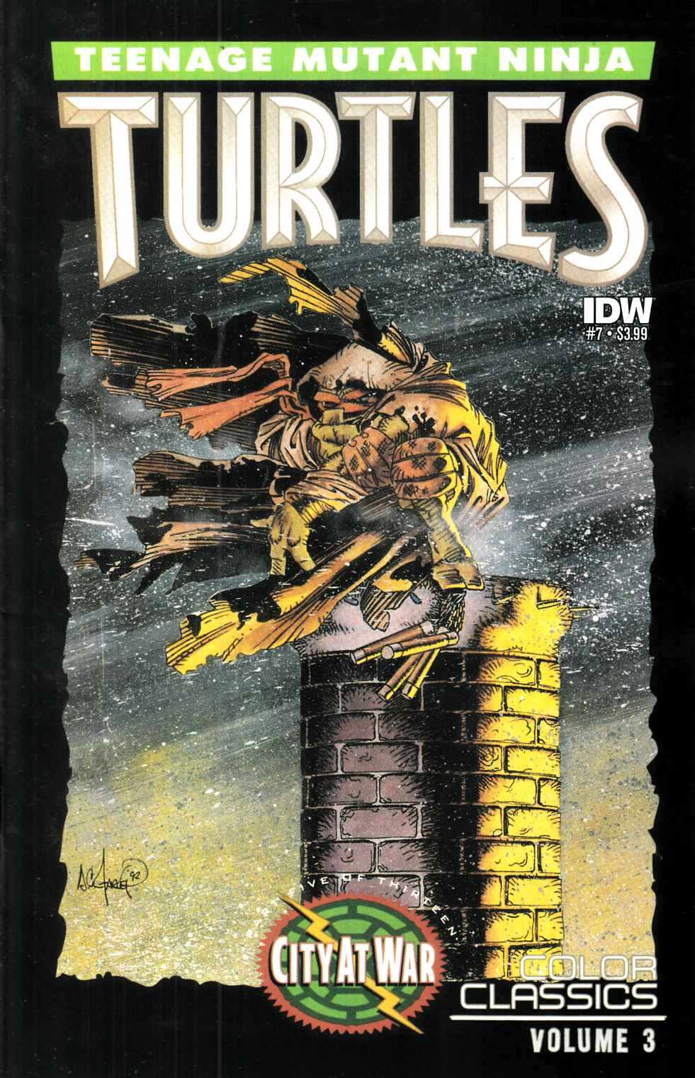 Teenage Mutant Ninja Turtles Color Classics Series 3 #7 [IDW Comic] THUMBNAIL