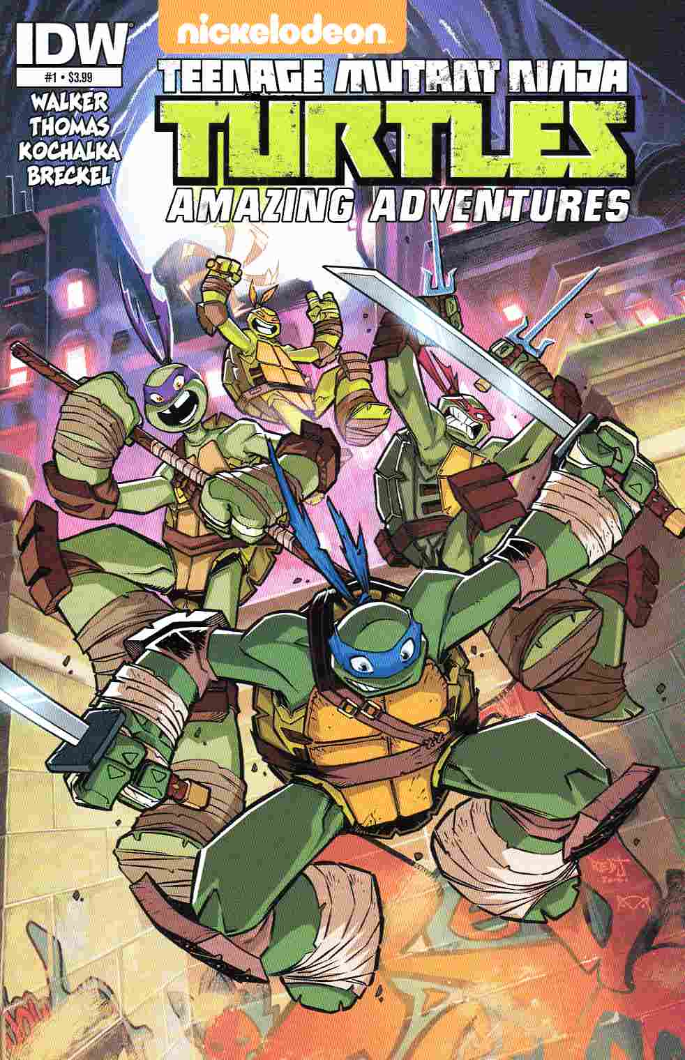 TMNT Amazing Adventures #1 [IDW Comic] THUMBNAIL