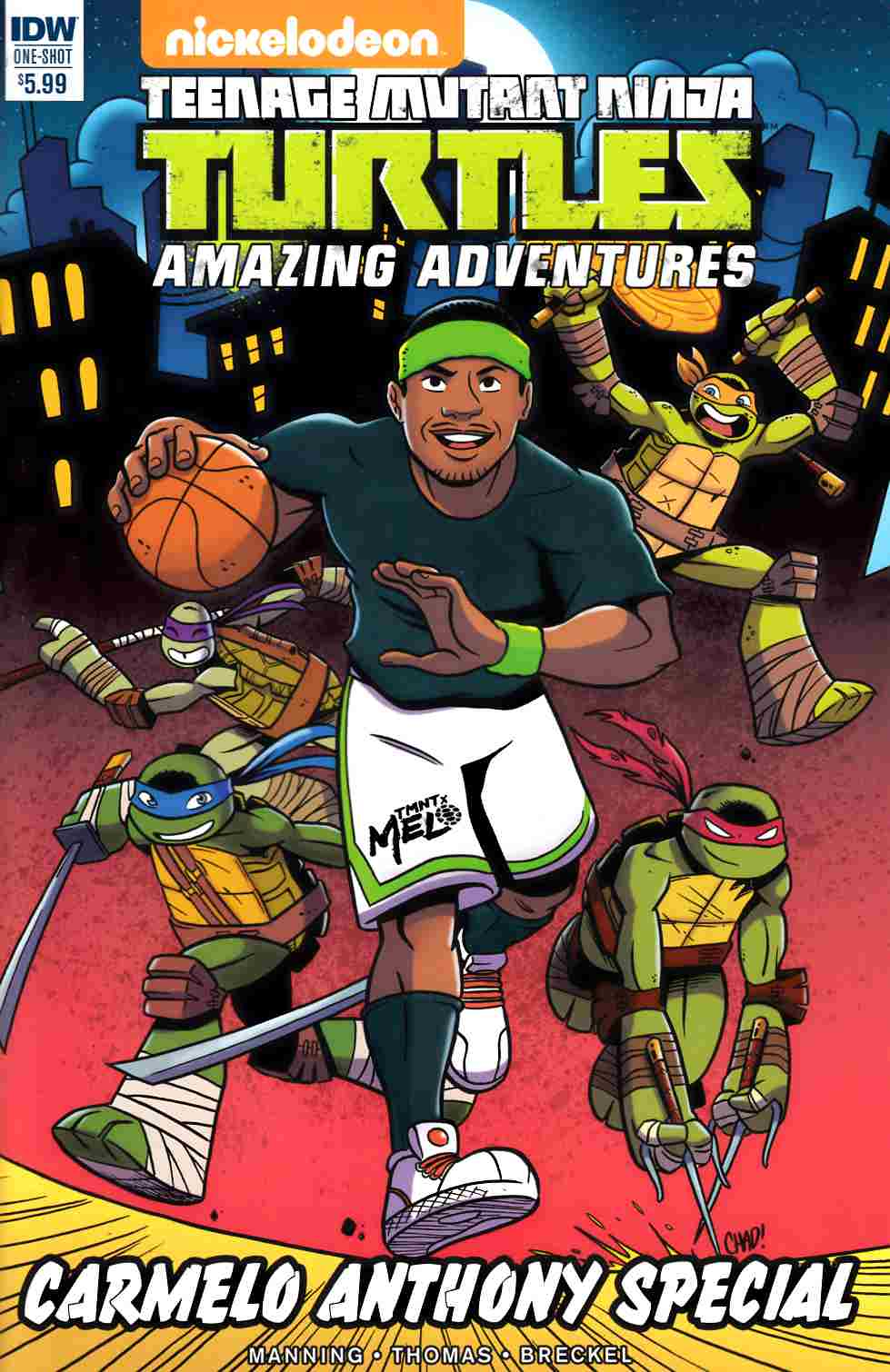 TMNT Amazing Adventures Carmelo Anthony Special (One Shot) [IDW Comic] LARGE