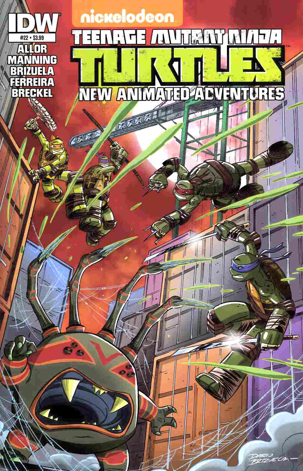TMNT New Animated Adventures #22 [IDW Comic] THUMBNAIL