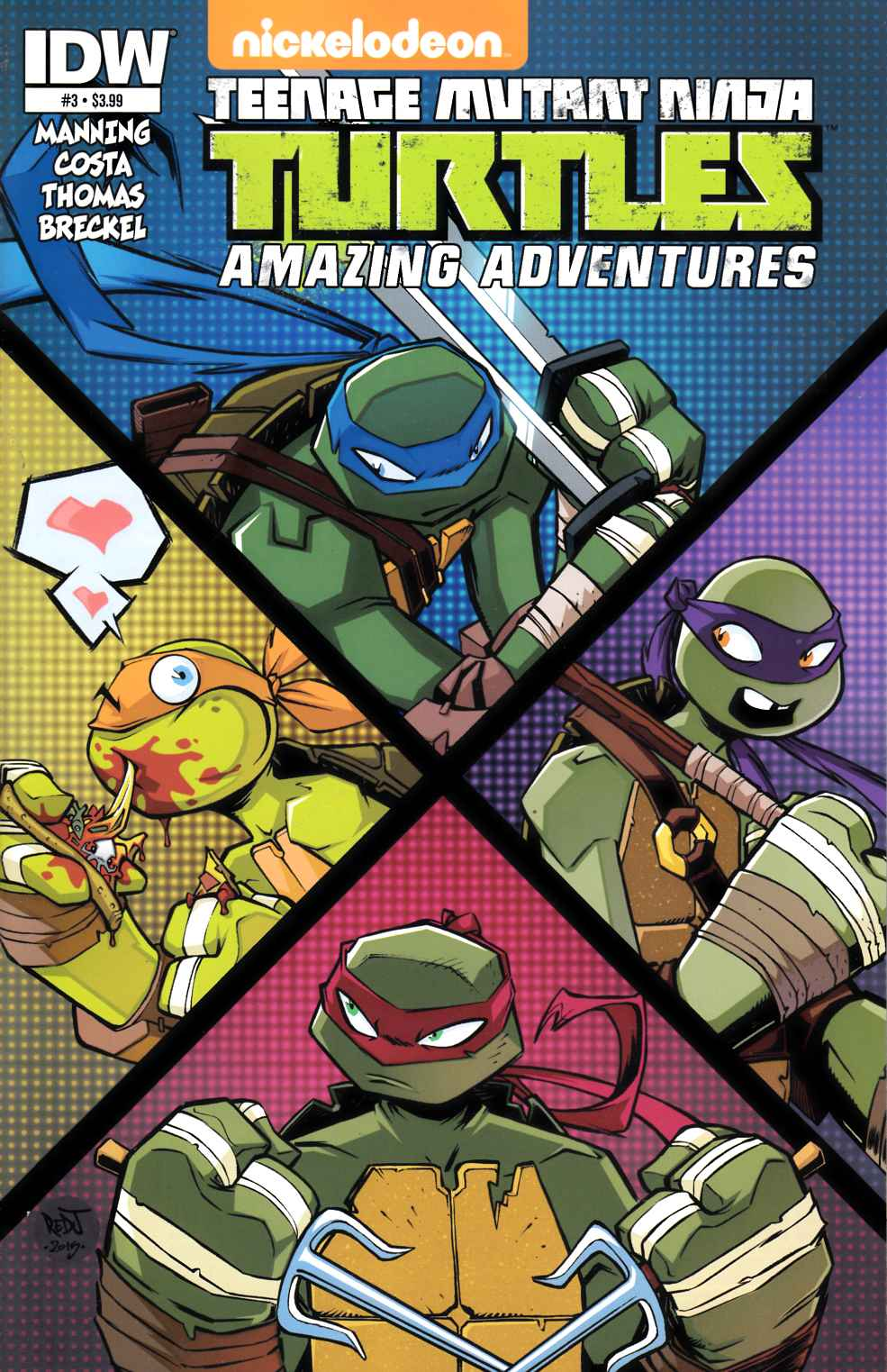 TMNT Amazing Adventures #3 [IDW Comic] THUMBNAIL