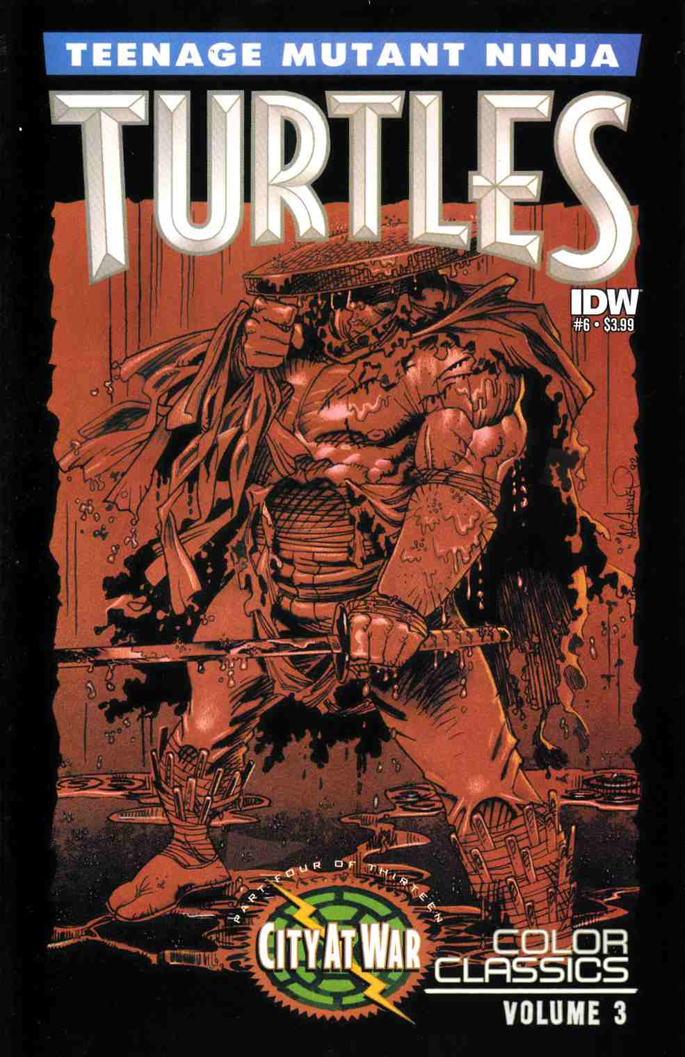Teenage Mutant Ninja Turtles Color Classics Series 3 #6 [IDW Comic] THUMBNAIL