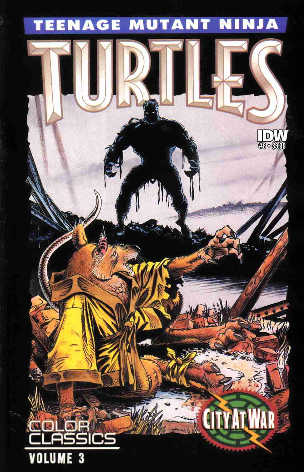Teenage Mutant Ninja Turtles Color Classics Series 3 #8 [IDW Comic] LARGE