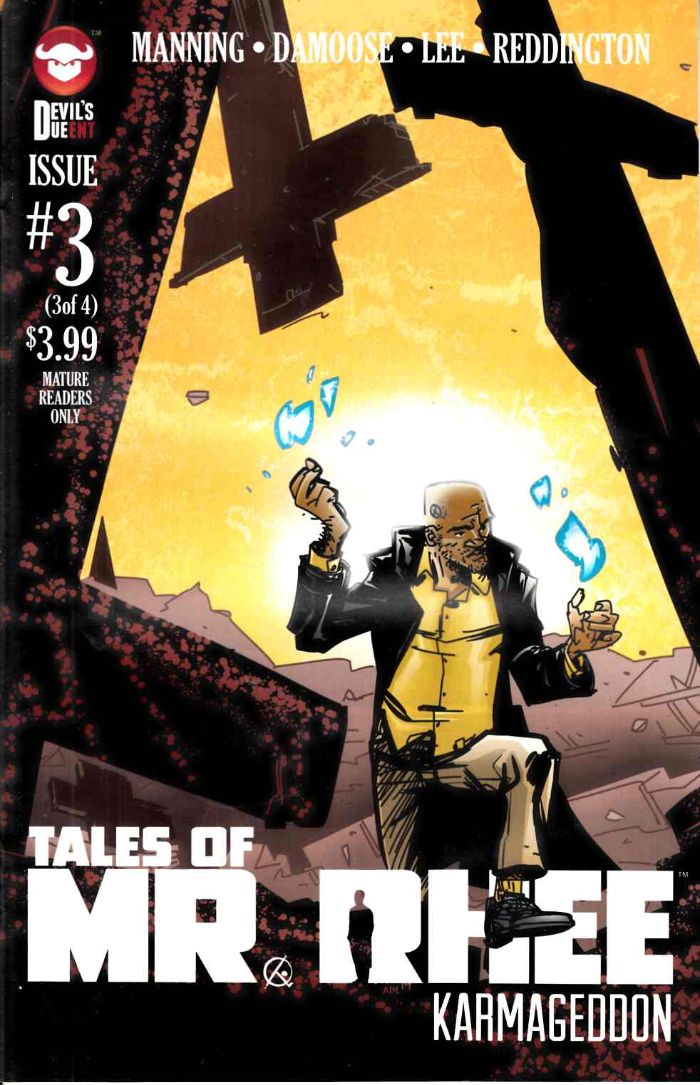 Tales of Mr Rhee Karmageddon #3 [Devils Due Comic] THUMBNAIL