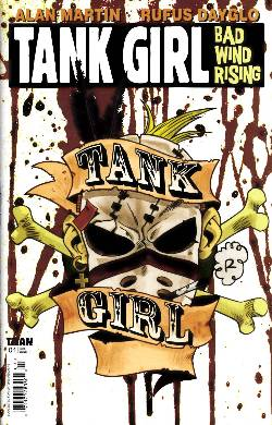 Tank Girl Bad Wind Rising #4 [Comic] LARGE