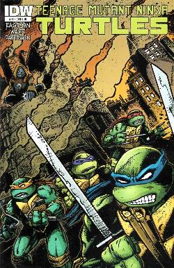 Teenage Mutant Ninja Turtles Ongoing #21 Subscription Cover [Comic] LARGE