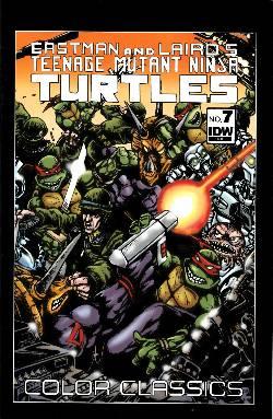 teenage mutant ninja turtles color classics 7 comic