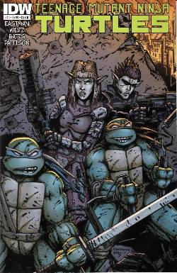 Teenage Mutant Ninja Turtles Ongoing #19 Cover B- Eastman [Comic]