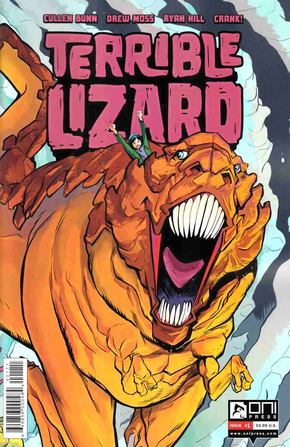 Terrible Lizard #1 [Oni Press Comic]