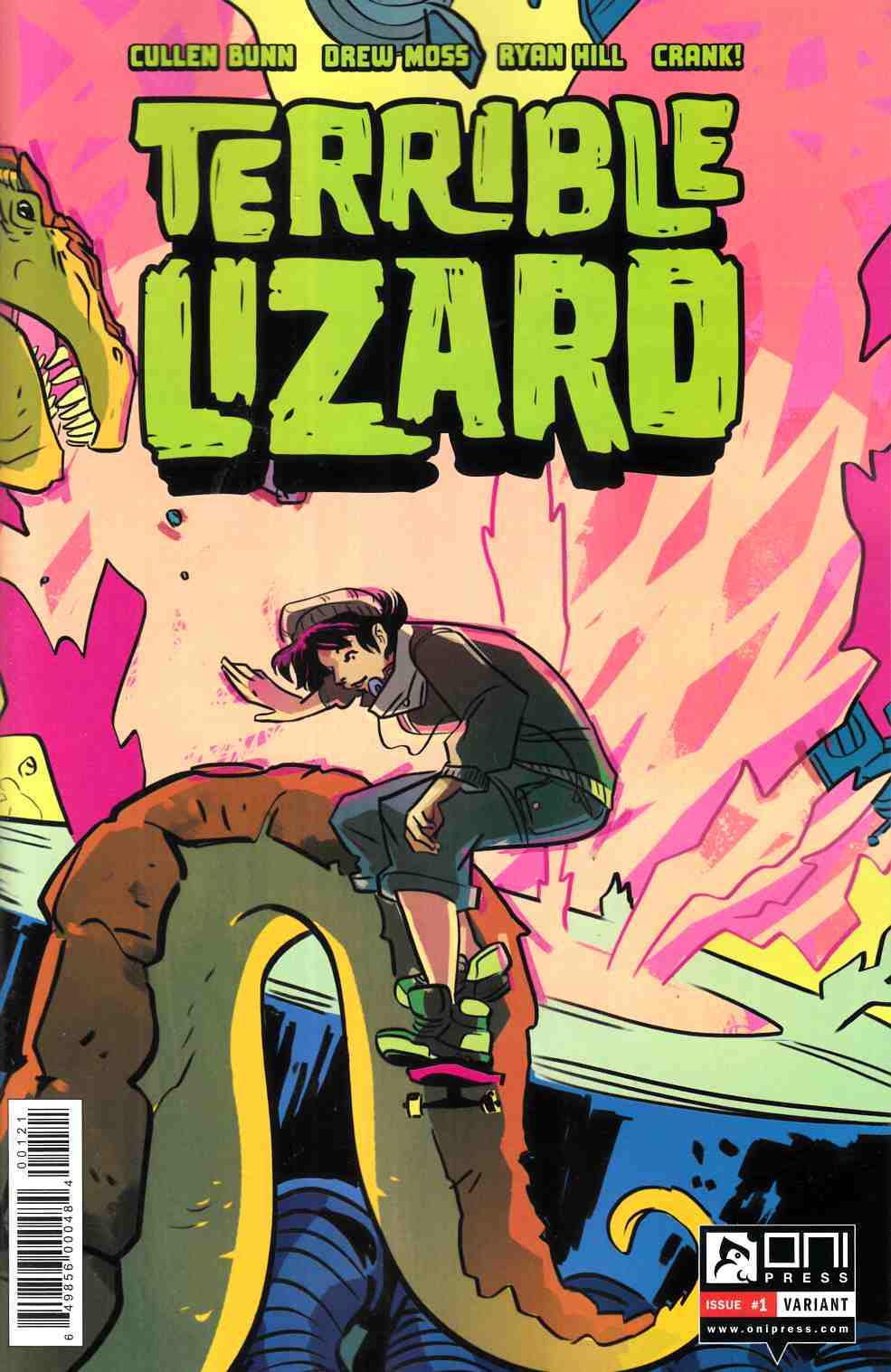 Terrible Lizard #1 Henderson Incentive Cover [Oni Press Comic]