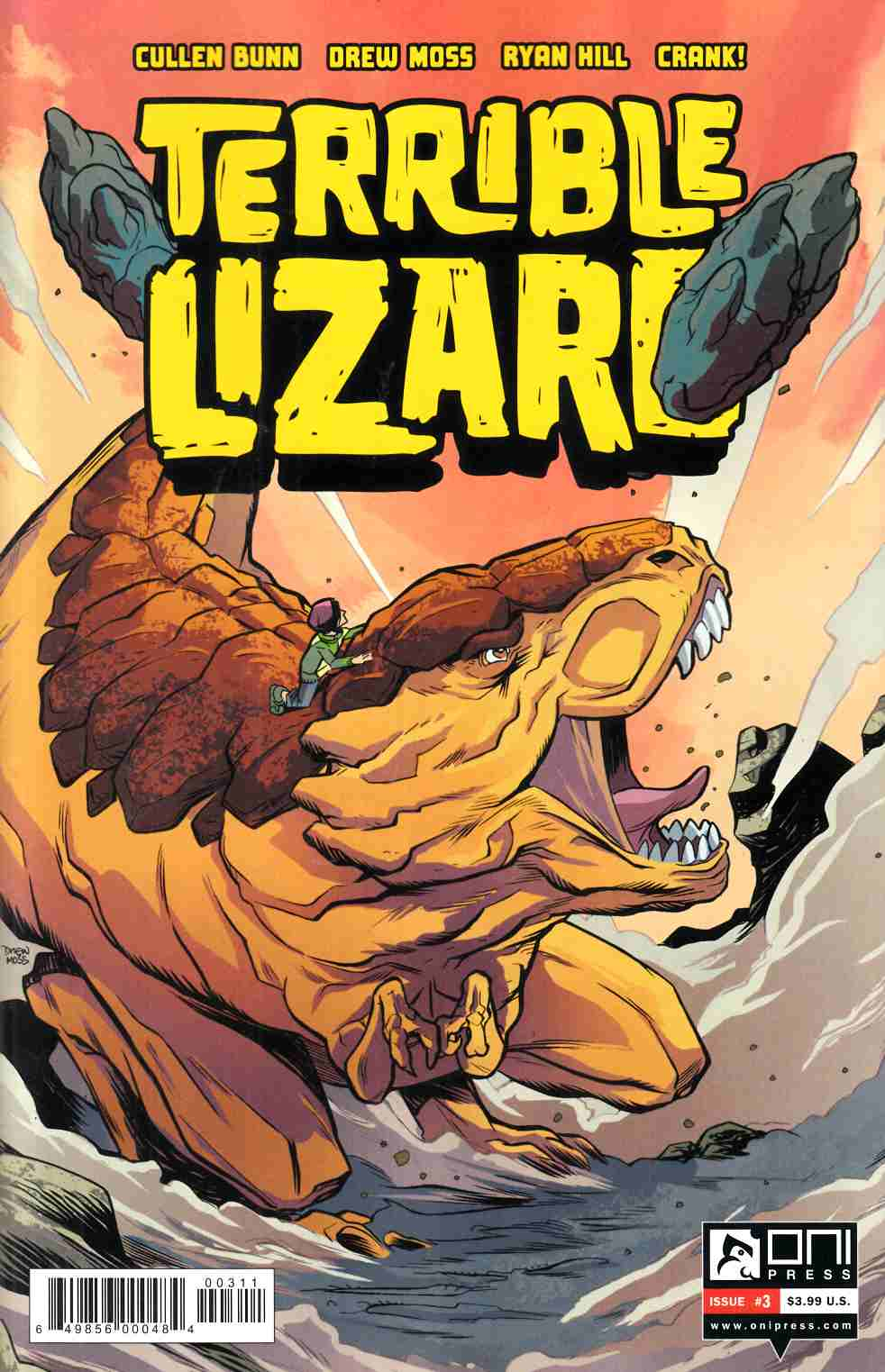 Terrible Lizard #3 [Oni Press Comic]