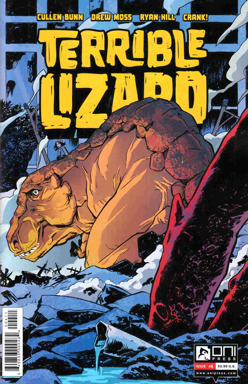Terrible Lizard #4 [Oni Press Comic]