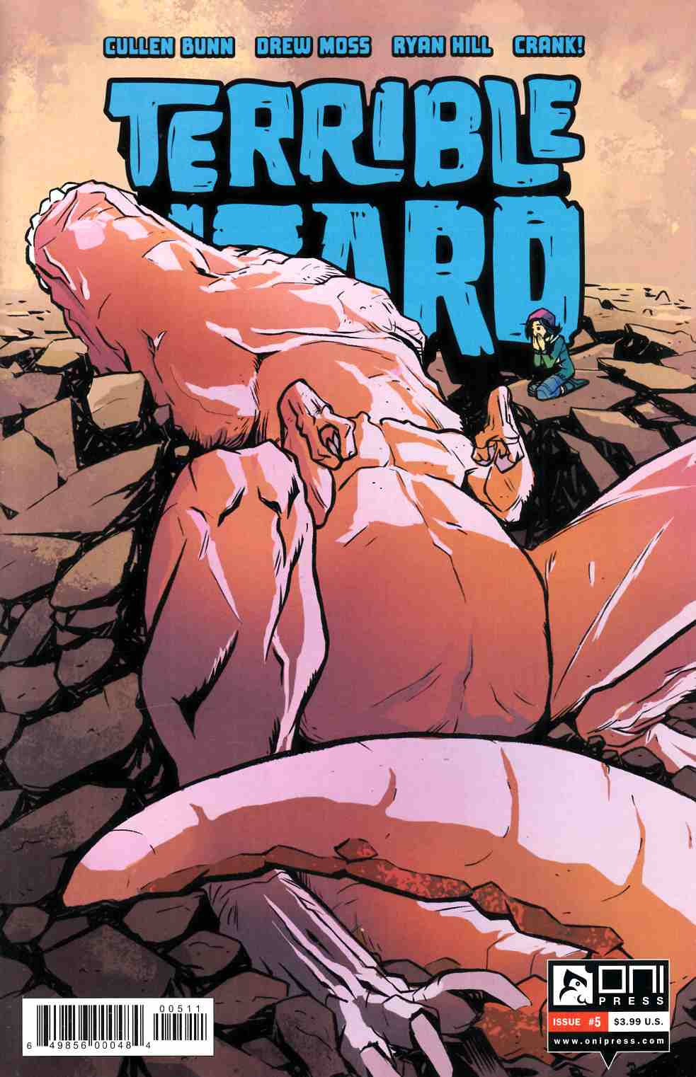 Terrible Lizard #5 [Oni Press Comic]