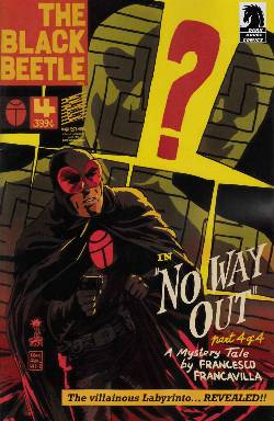 Black Beetle #4 No Way Out [Comic] LARGE