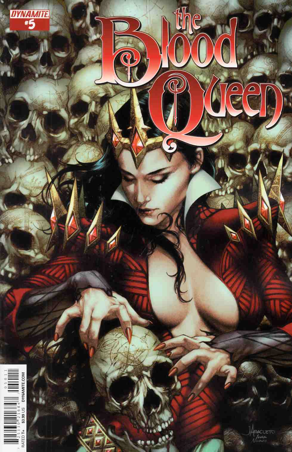 Blood Queen #5 Cover A- Anacleto [Comic] THUMBNAIL