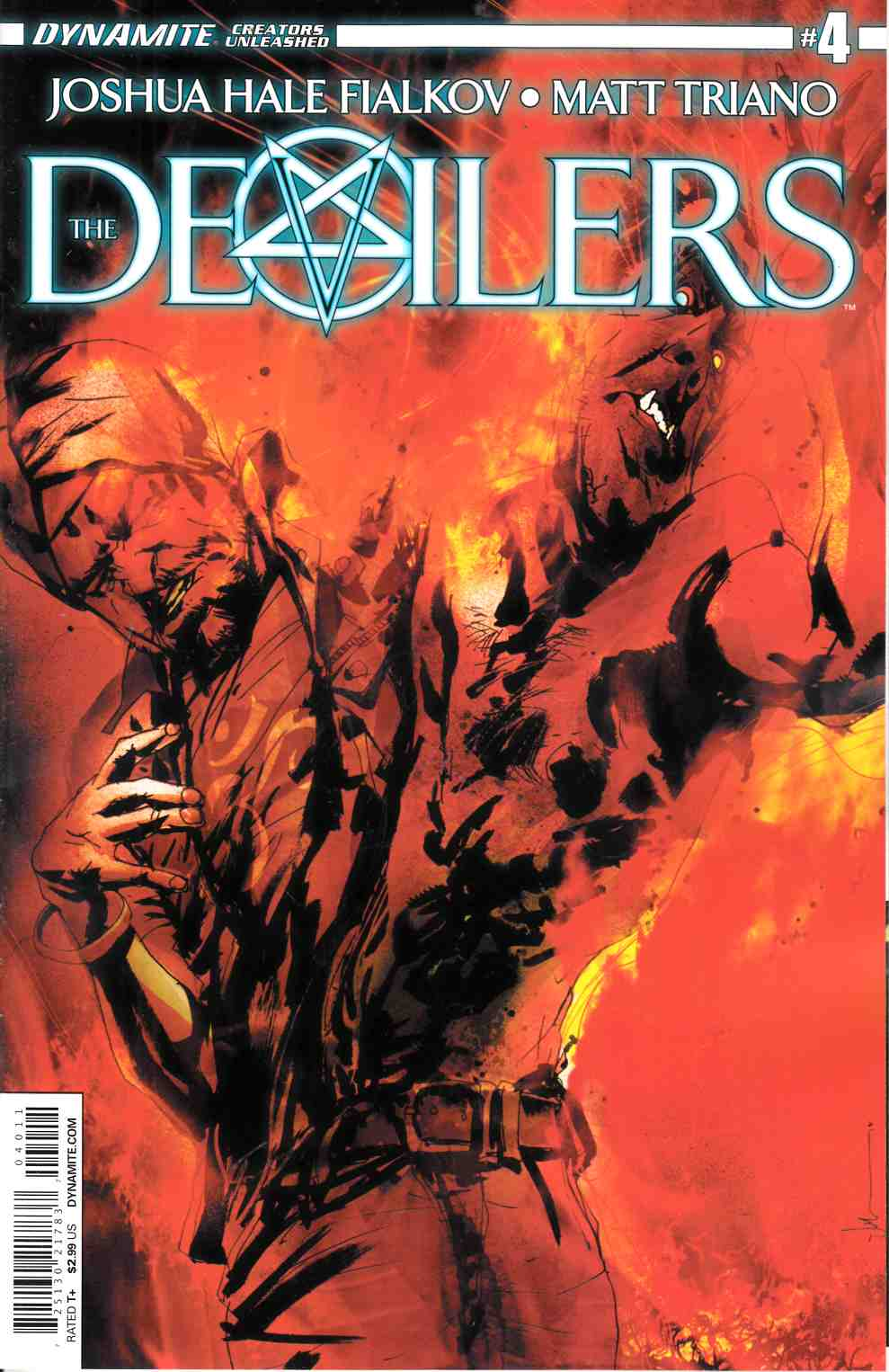 The Devilers #4 [Dynamite Comic] THUMBNAIL