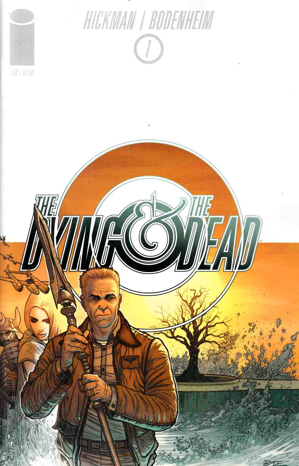 Dying and the Dead #1 [Image Comic] THUMBNAIL