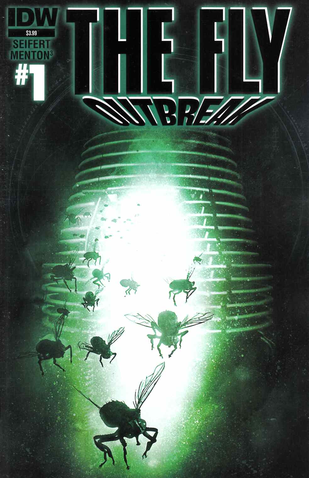 Fly Outbreak #1 [IDW Comic] THUMBNAIL