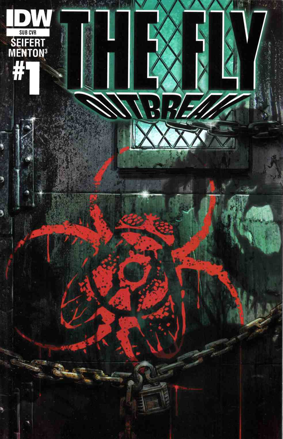 Fly Outbreak #1 Subscription Cover [IDW Comic] THUMBNAIL