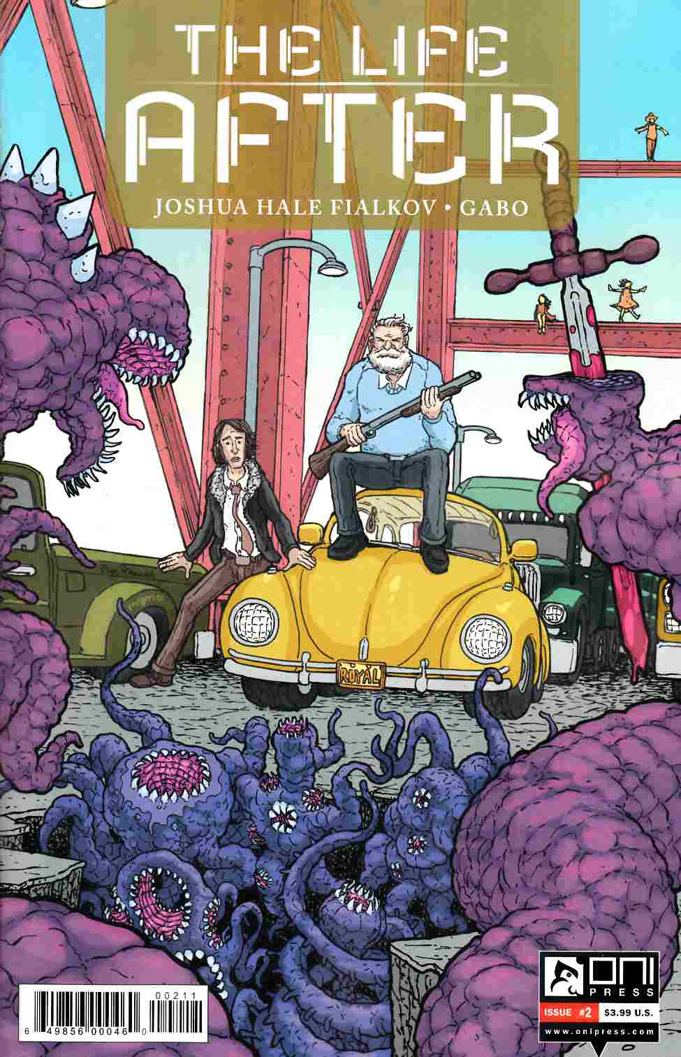 Life After #2 Cover A- Pitarra [Oni Press Comic]
