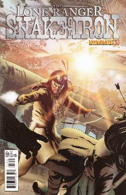 The Lone Ranger Snake of Iron #3 [Comic] LARGE
