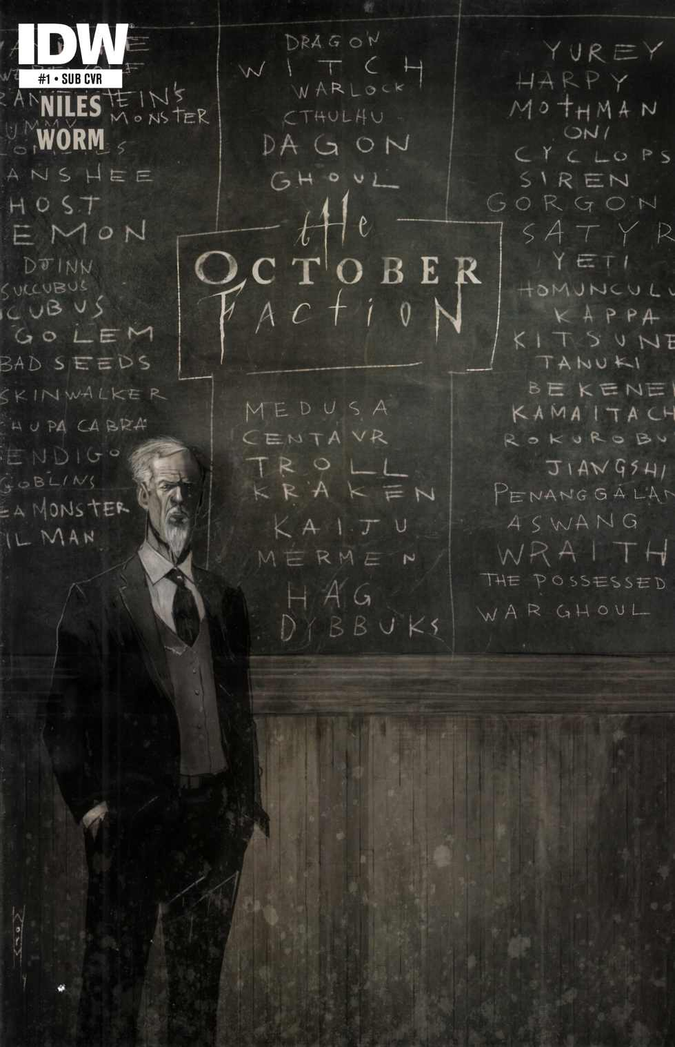 October Faction #1 Subscription Cover [Comic] THUMBNAIL