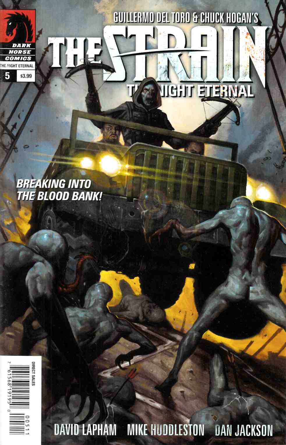 Strain Night Eternal #5 Near Mint (9.4) [Dark Horse Comic] THUMBNAIL