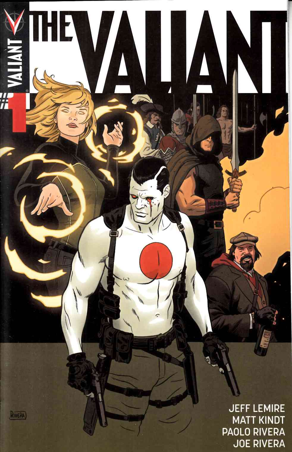 The Valiant #1 Cover A- Rivera [Valiant Comic] THUMBNAIL