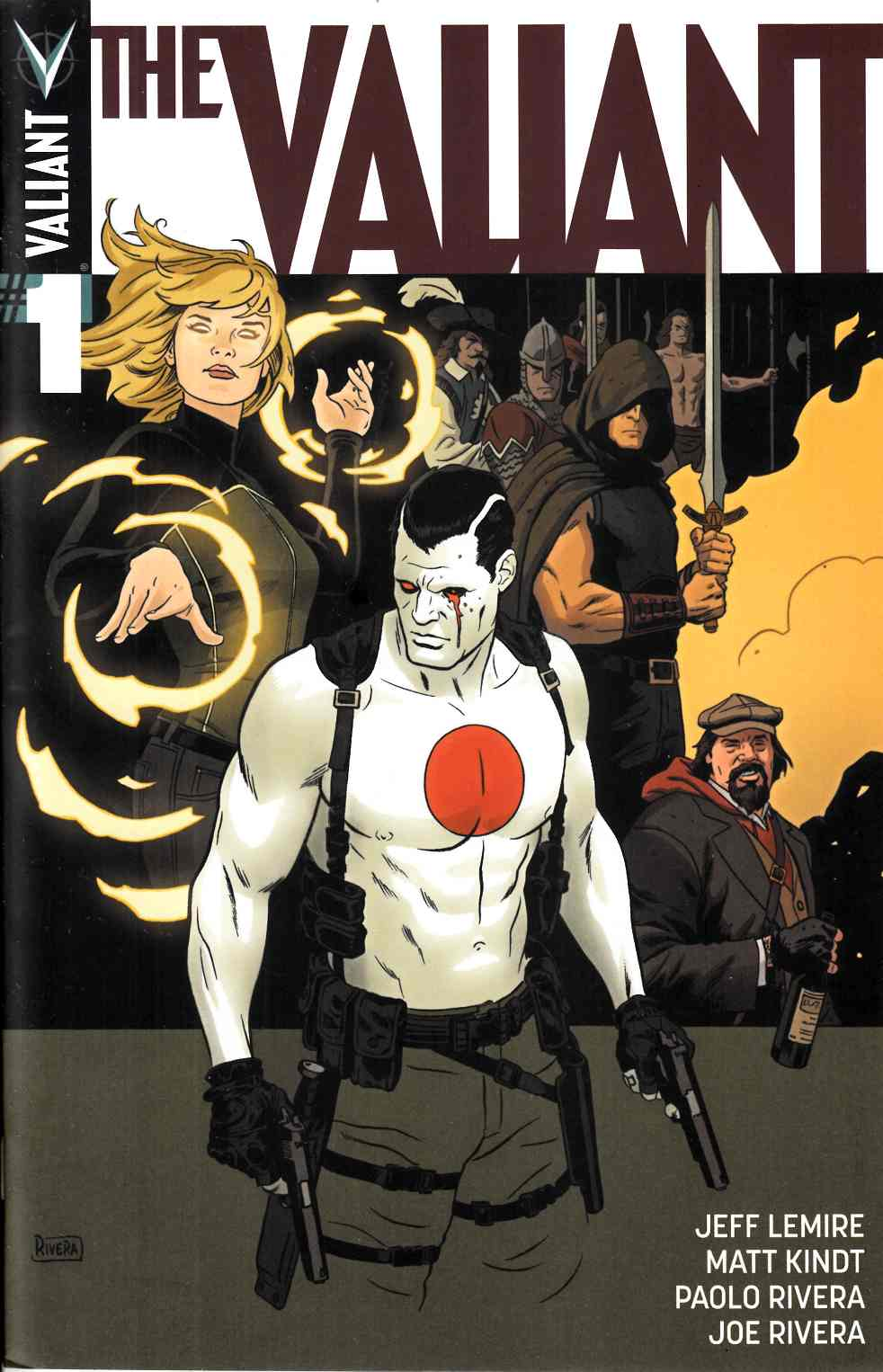 The Valiant #2 Cover A- Rivera [Valiant Comic] THUMBNAIL