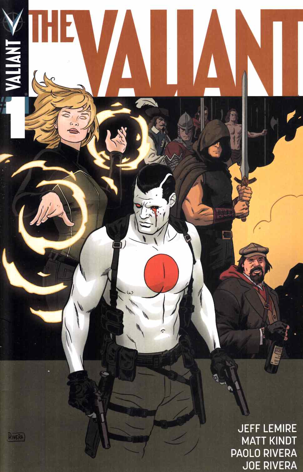 The Valiant #1 Second Printing [Valiant Comic] THUMBNAIL
