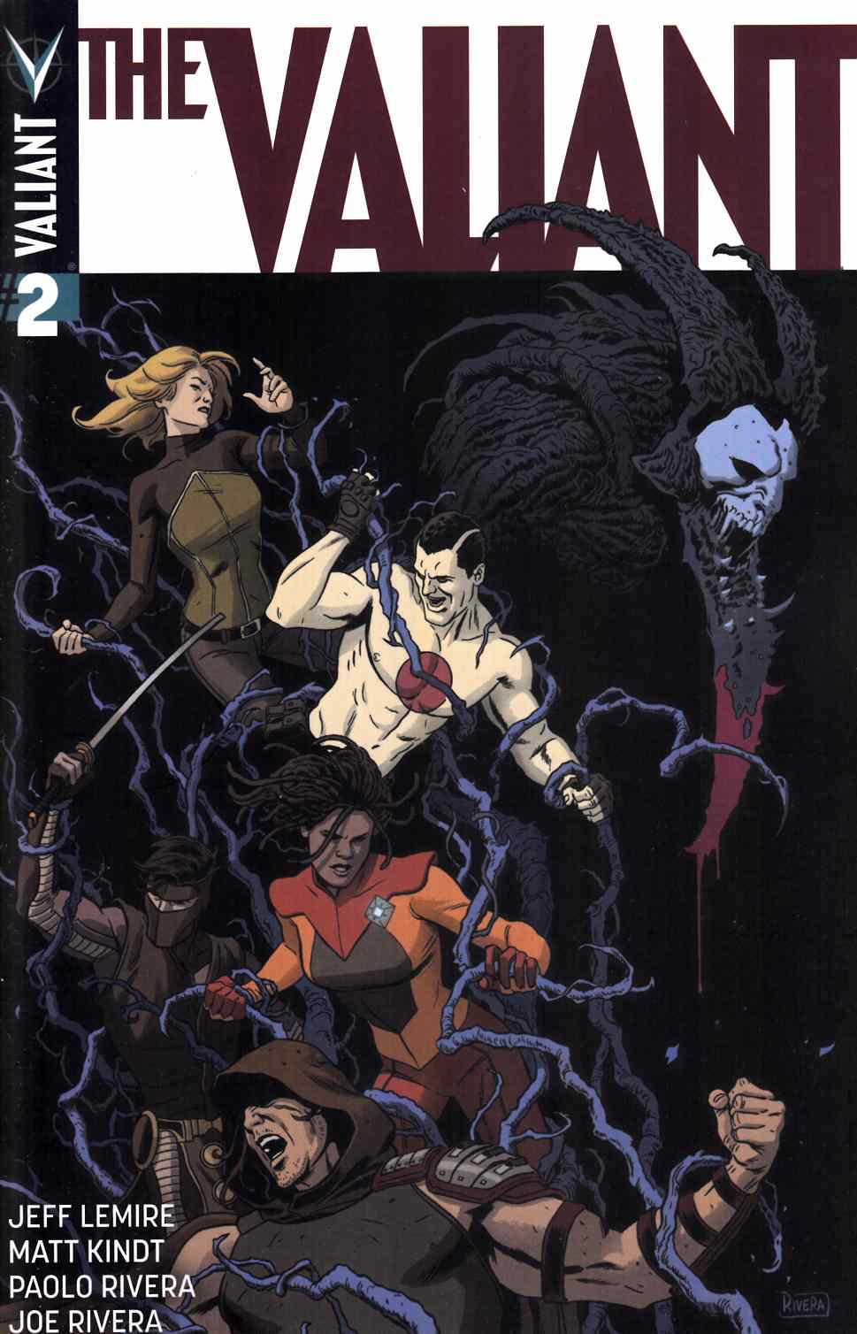 The Valiant #2 Second Printing [Valiant Comic] THUMBNAIL