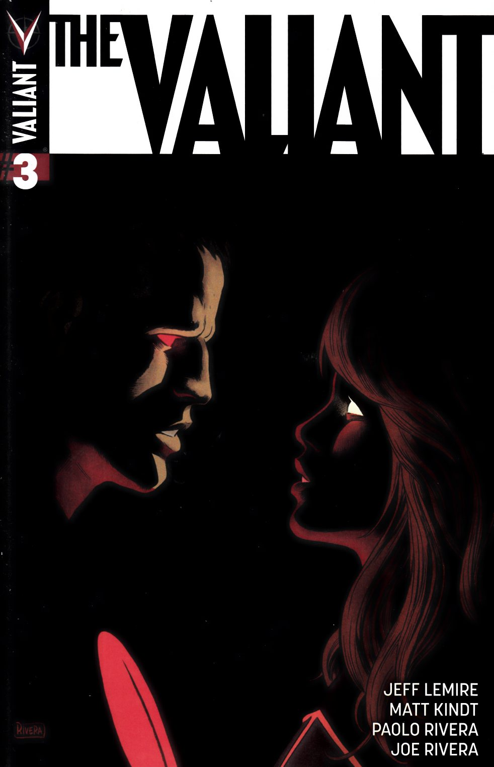The Valiant #3 Cover A- Rivera [Valiant Comic] THUMBNAIL