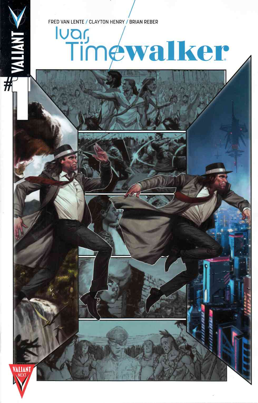 Ivar Timewalker #1 Cover B- Molina [Valiant Comic]