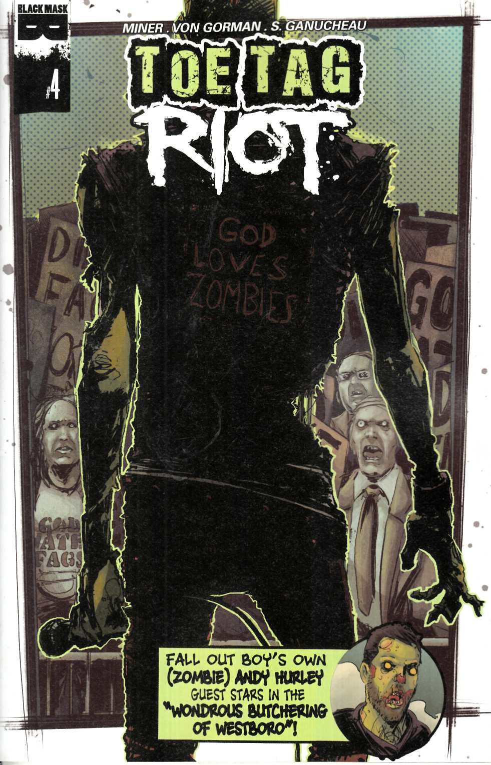 Toe Tag Riot #4 [Black Mask Comic] THUMBNAIL