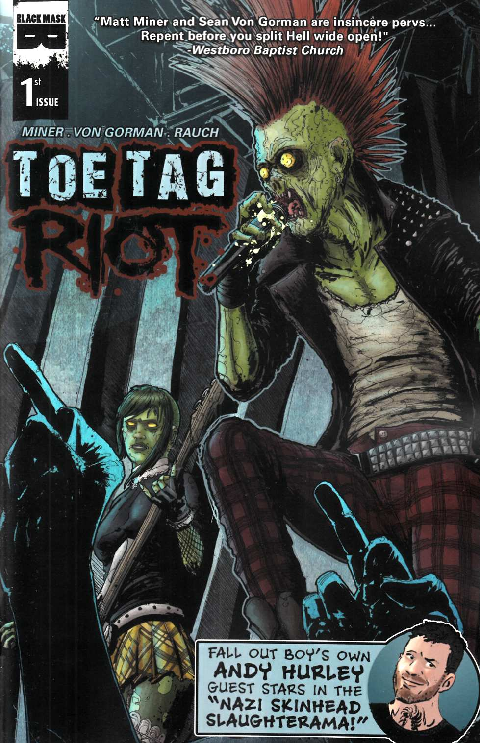 Toe Tag Riot #1 Cover A [Black Mask Comic] THUMBNAIL