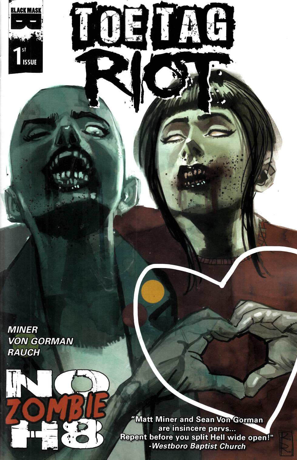 Toe Tag Riot #1 Cover B [Black Mask Comic] THUMBNAIL