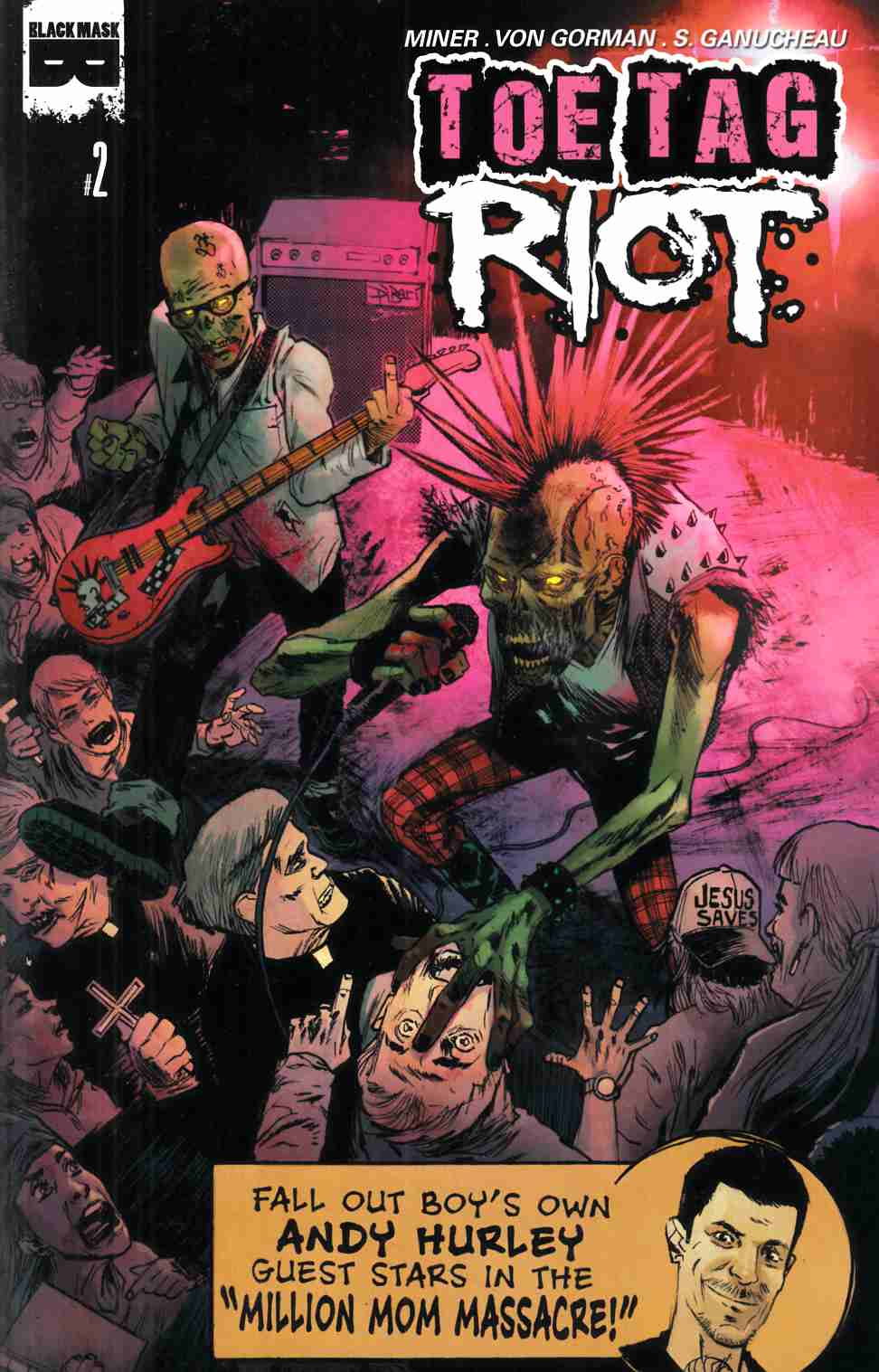 Toe Tag Riot #2 [Black Mask Comic] THUMBNAIL
