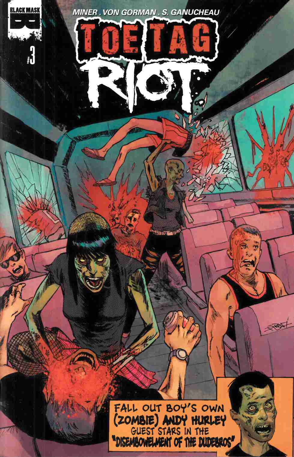 Toe Tag Riot #3 [Black Mask Comic] THUMBNAIL