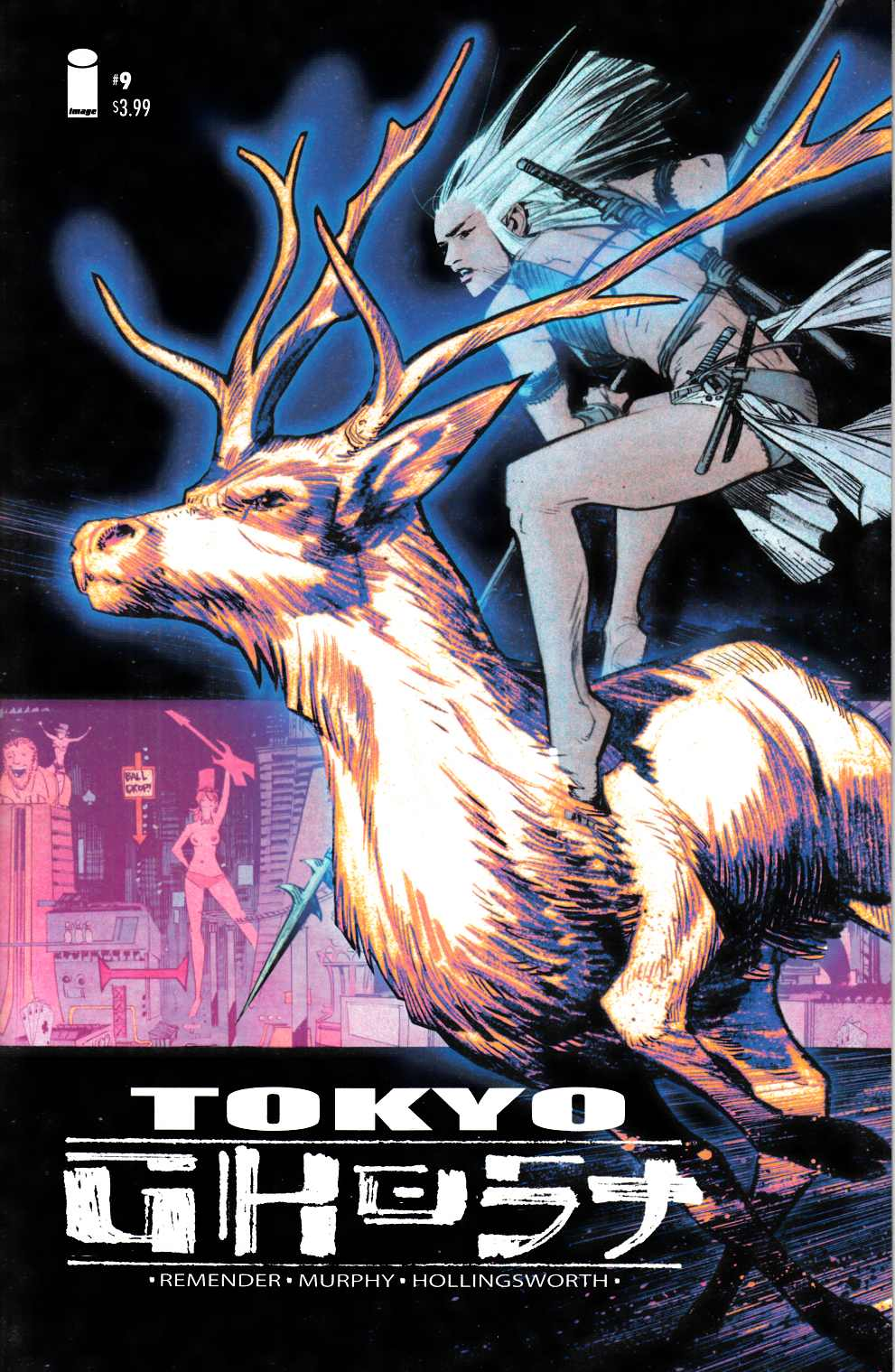 Tokyo Ghost #9 Cover A [Image Comic] LARGE