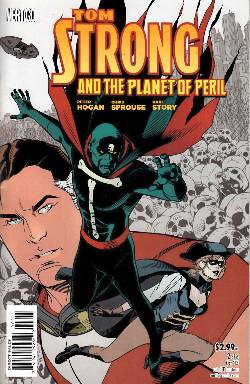 Tom Strong And The Planet Of Peril 2 Comic Dreamlandcomics Com Online Store