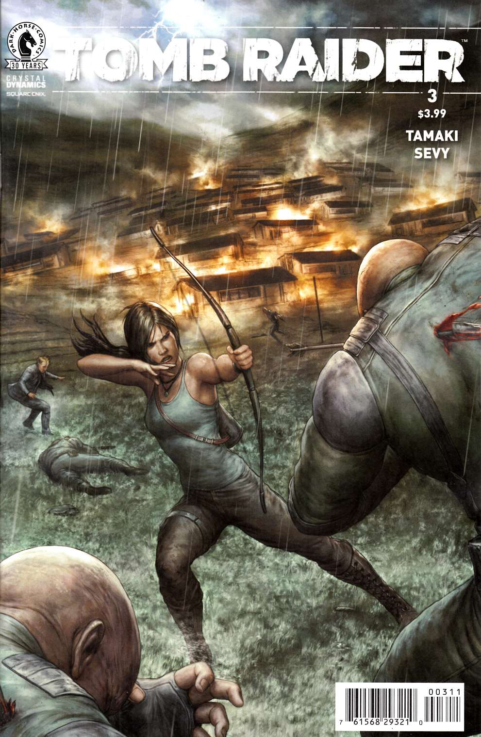 Tomb Raider 2016 #3 [Dark Horse Comic] THUMBNAIL