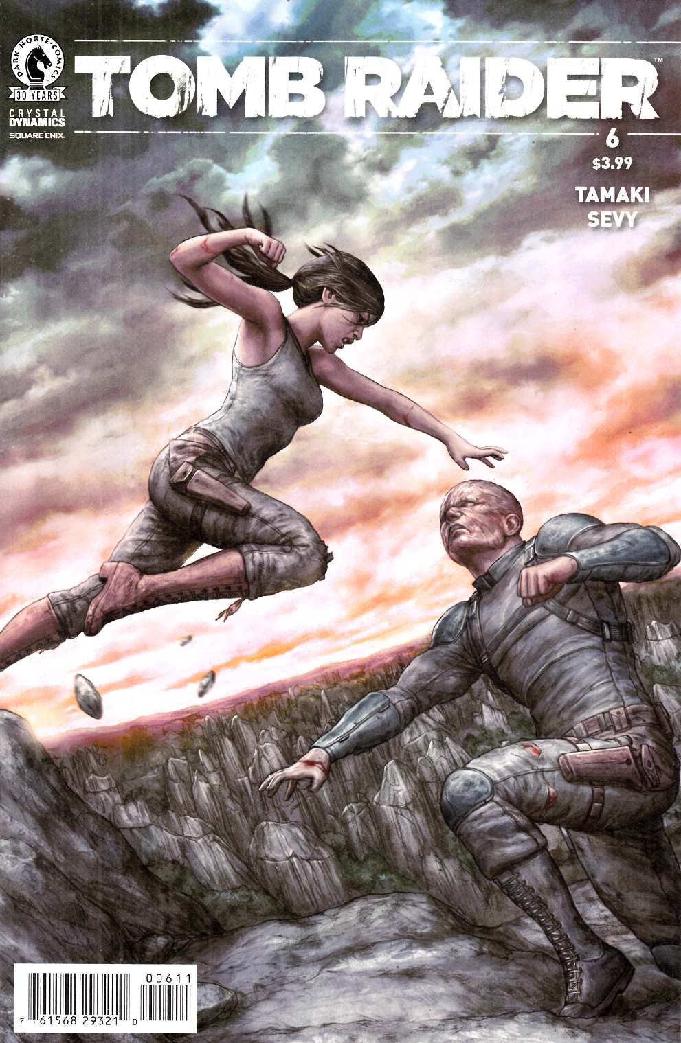Tomb Raider 2016 #6 [Dark Horse Comic] THUMBNAIL