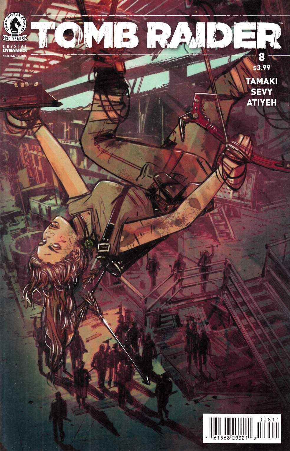 Tomb Raider 2016 #8 [Dark Horse Comic] THUMBNAIL