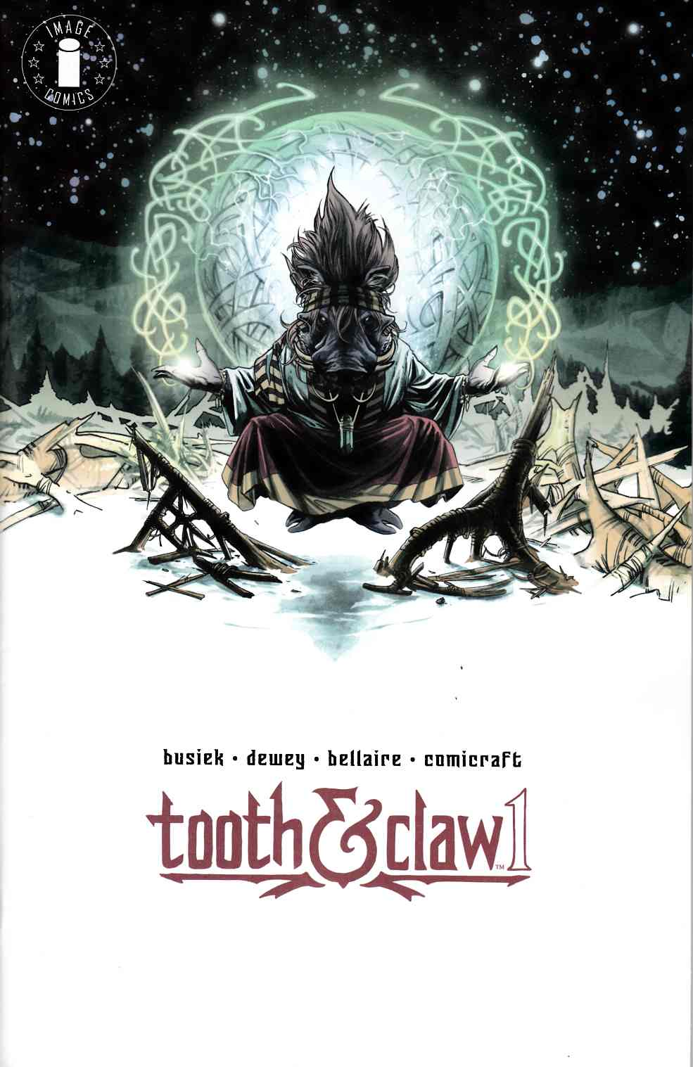 Autumnlands Tooth & Claw #1 Cover C- Circle Logo Edition [Image Comic] LARGE