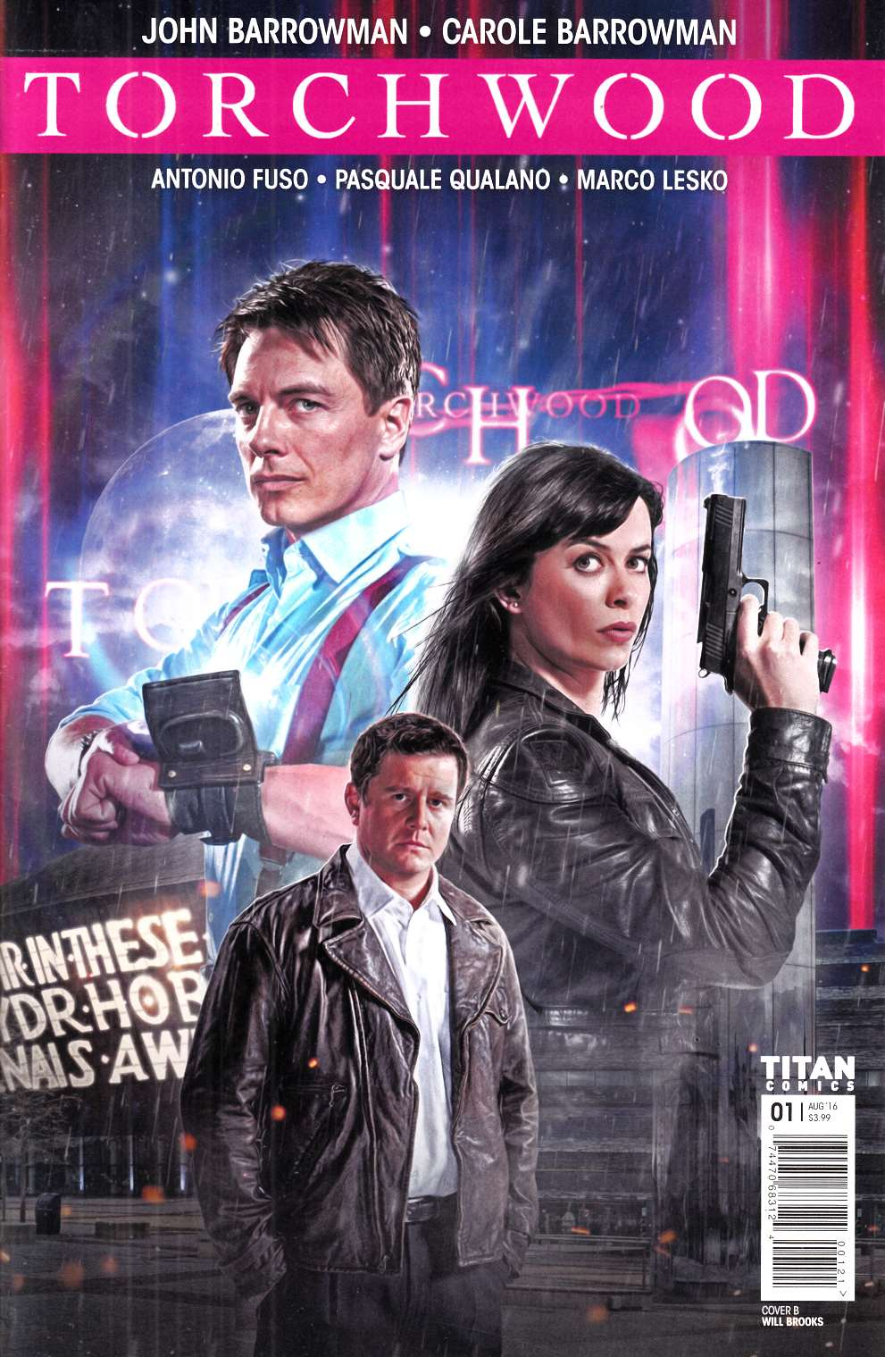 Torchwood #1 Cover B- Photo [Titan Comic] THUMBNAIL