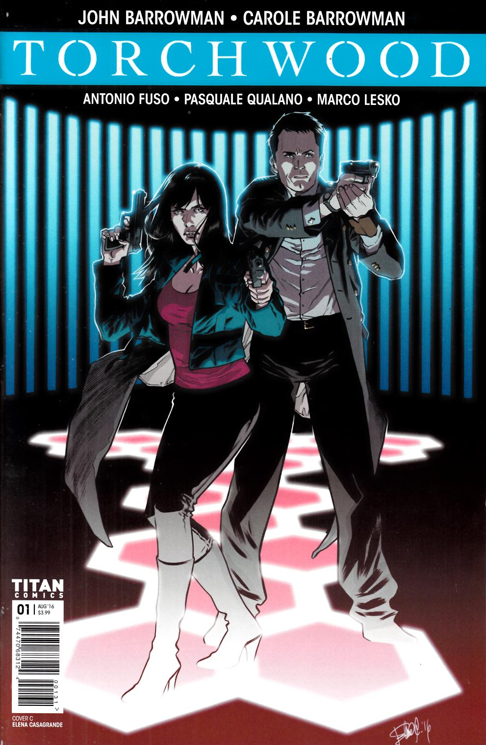 Torchwood #1 Cover C- Casagrande [Titan Comic] LARGE