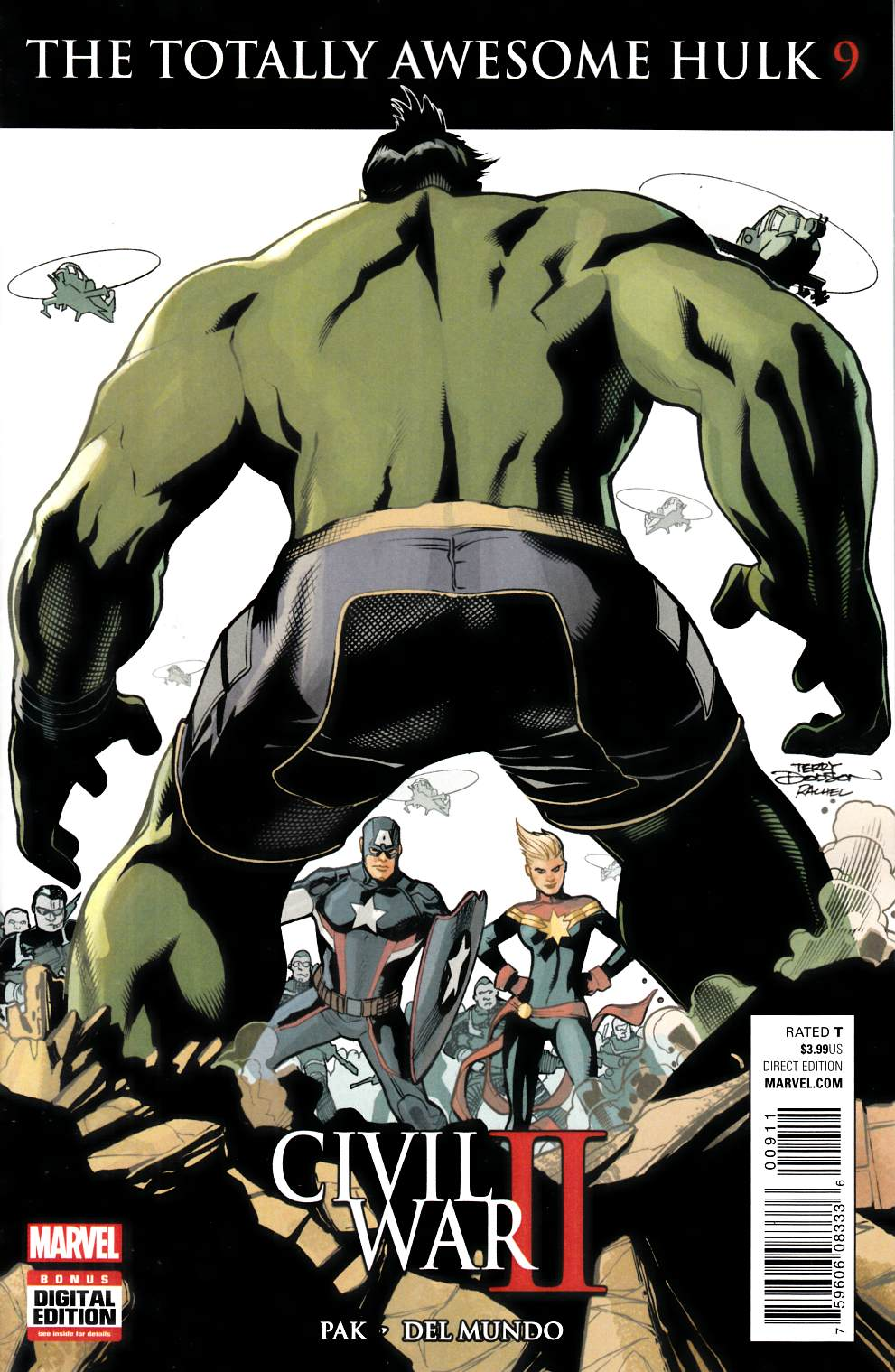 Totally Awesome Hulk #9 [Marvel Comic] LARGE