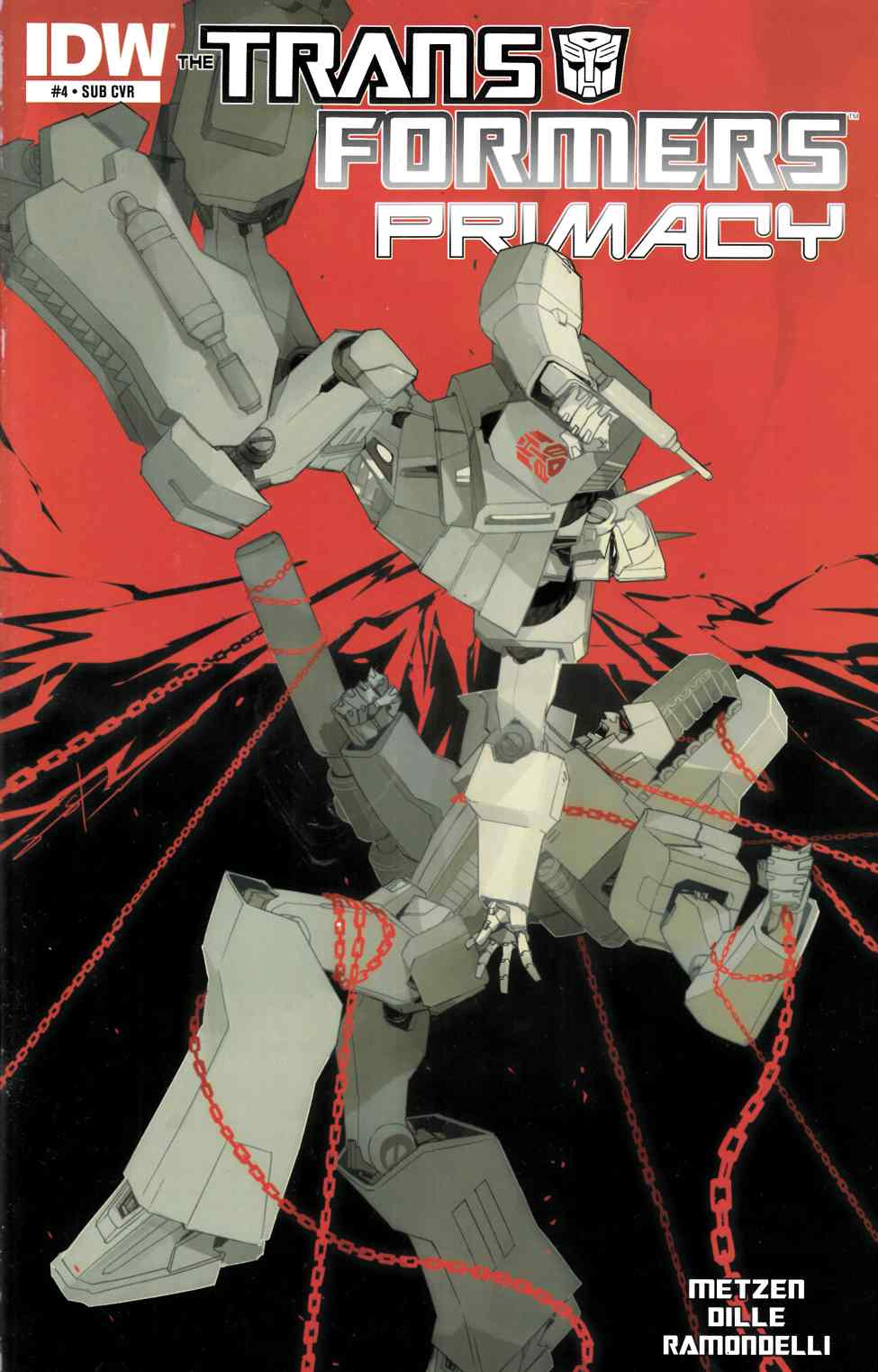 Transformers Primacy #4 Subscription Cover [IDW Comic] THUMBNAIL