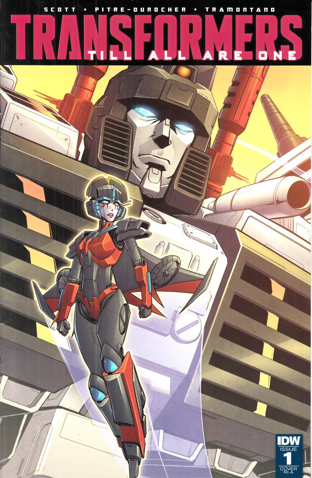 Transformers Till All Are One #1 Cover RIA [IDW Comic] LARGE